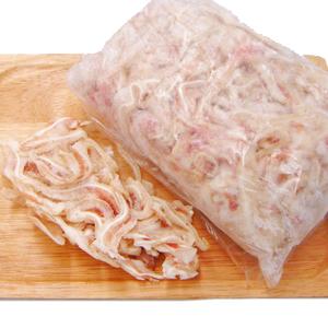 沖縄料理のミミガーによく使われる食材です 酢の物 直送商品 酢味噌和えなどにもよく合います 豚耳スライス おしゃれ ミミガー pr 国産 17821 500g