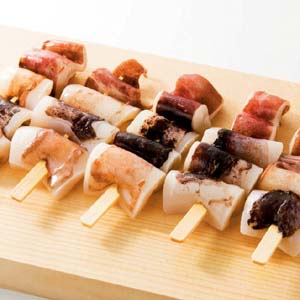 超安い 1串に一口サイズのムラサキイカを4個 BBQにどうぞ いかおやじ串70g×10本 nh912974 バーベキュー BBQに最適 祝日