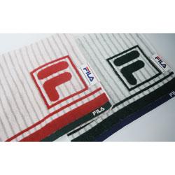 スポーツタオル [再販ご予約限定送料無料] フィラ ストライプ柄 34×110cm オンラインショップ