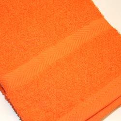 ファッション通販 無地系 業務用やまとまった枚数買いに 日本製 低廉 家族で色分けに フェイスタオル オレンジ 200匁 チムニー 淡色