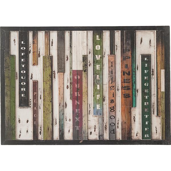 サインボード 天然木 幅100×奥行3×高さ70cm 木製 看板 プレート 壁掛け アート ウッドアート パネル アンティーク