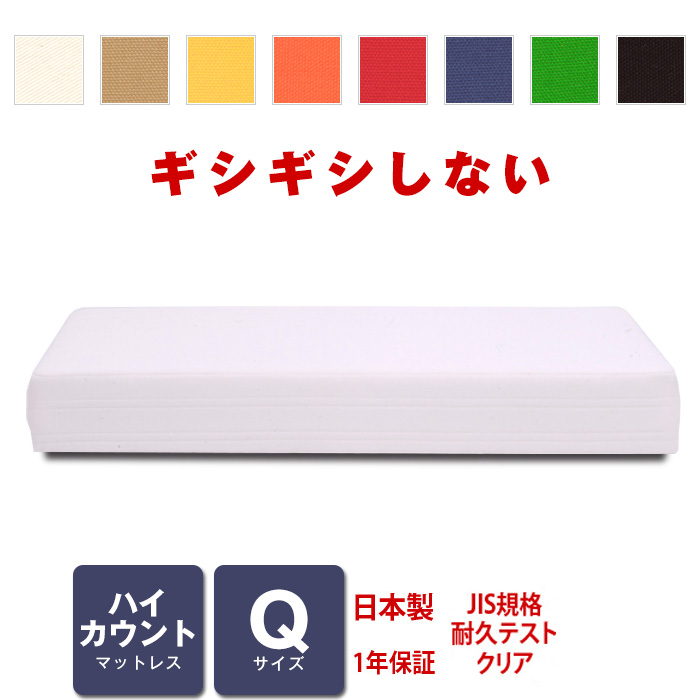 マットレス ハイカウント (高密度スプリング) クィーンサイズ ベッド用 [PROFONDシリーズ]