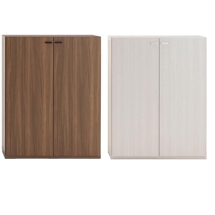 スッキリ収納 扉付き棚 シンプル 壁面収納 日本製 送料無料