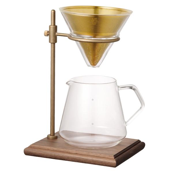 同梱可能 キッチン 食器 コーヒー お茶 コーヒードリッパー 出色 コーヒーメーカー SLOW COFFEE STYLE 最安値挑戦  二人暮らし 4cups 一人暮らし Specialty ひとり 一人 ブリューワースタンドセット