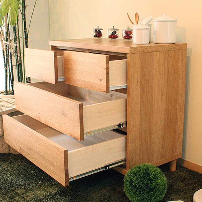 チェスト 収納家具 タンス 引出し 木製 ラック OCTA 75チェスト 送料無料