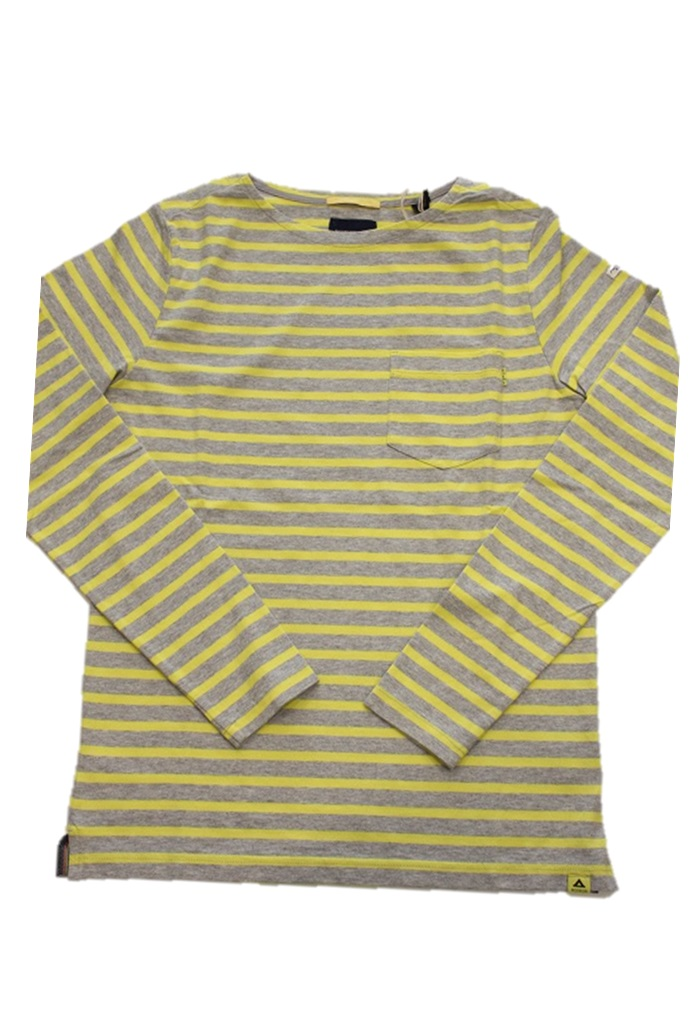 SCOTCH&SODA【スコッチ&ソーダ】胸ポケット付きボーダーロングスリーブTシャツ Border L/S TEE(282-63430-49)