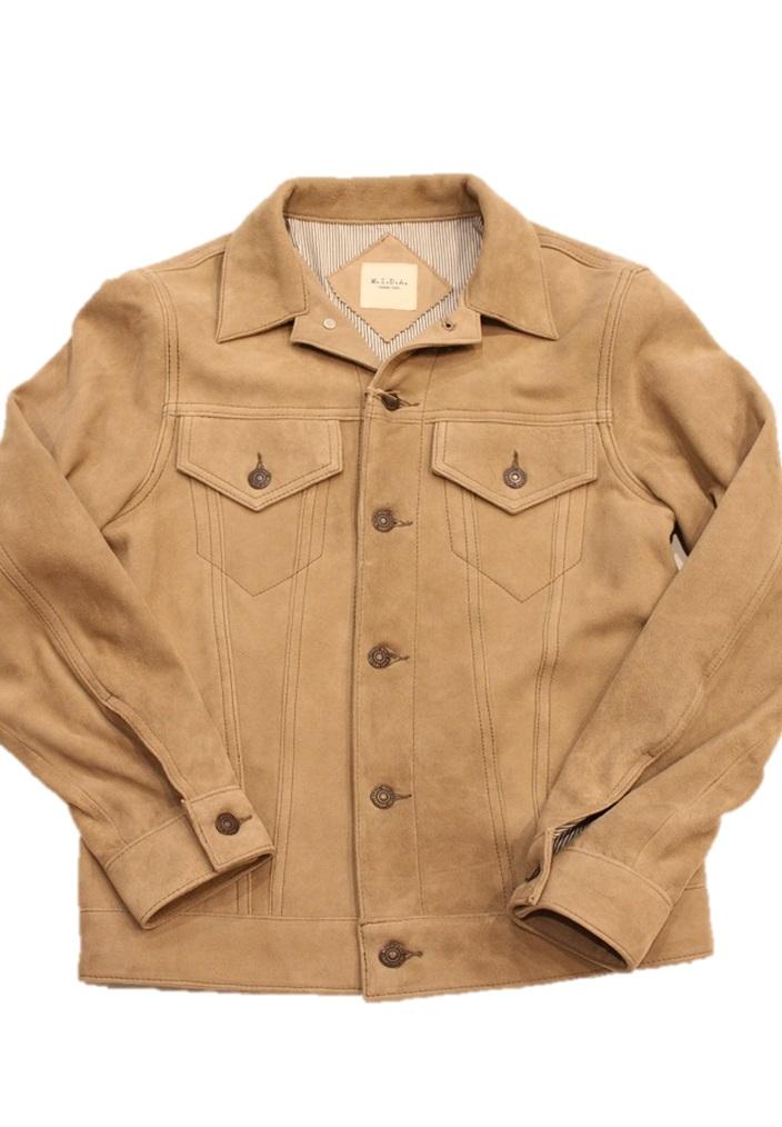 MIDA【ミダ】GジャンタイプスエードレザージャケットJean Jacket(M181212)