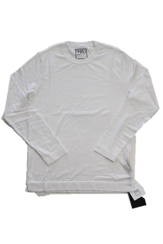 FEDELI【フェデーリ】ロングスリーブ Tシャツ1UI00117J(GIZA45 JERSEY)
