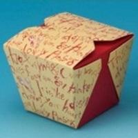 テイクアウト用紙容器 デリメイト7070 カラー 1ケース(400入)
