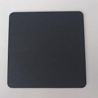 黒コースターECO 黒無地 1ケース(2,000枚入)A.角丸 B.丸型