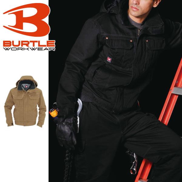 バートル 防寒ジャケット 大型フード付き 8110 作業服 メンズ バートル 撥水 作業着 防寒服 防寒着
