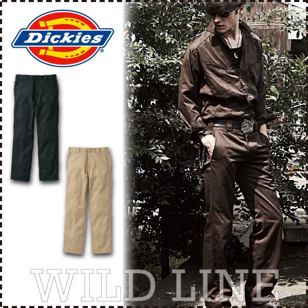 ディッキーズ ストレートパンツ Dickies D-1083 スラックス ズボン 作業着 年間 オールシーズン 作業服 メンズ