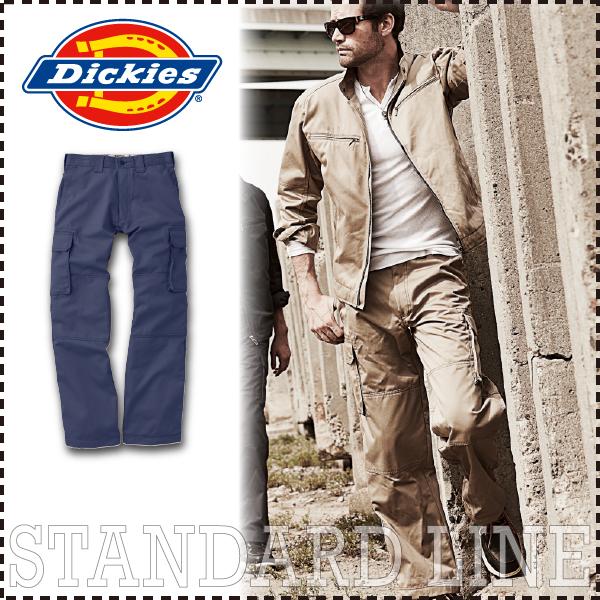 ディッキーズ ダブルニー・カーゴパンツ Dickies D-1875 年間 ズボン 作業服 作業着 制電 メンズ