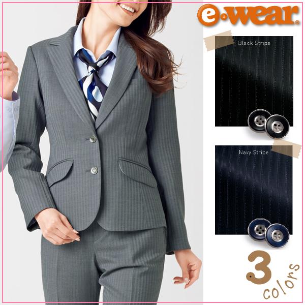 【送料無料】【カーシーカシマ】【KARSEE】【enjoy】 EAJ-420 Air Suits Biz ジャケット 【年間・ポリ60%・ウール40%】【事務服】【女性用・レディース】