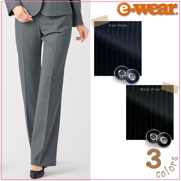 【送料無料】【カーシーカシマ】【KARSEE】【enjoy】 EAL-424 Air Suits Biz パンツ(ウエストハング) 【年間・ポリ60%・ウール40%】【事務服】【女性用・レディース】