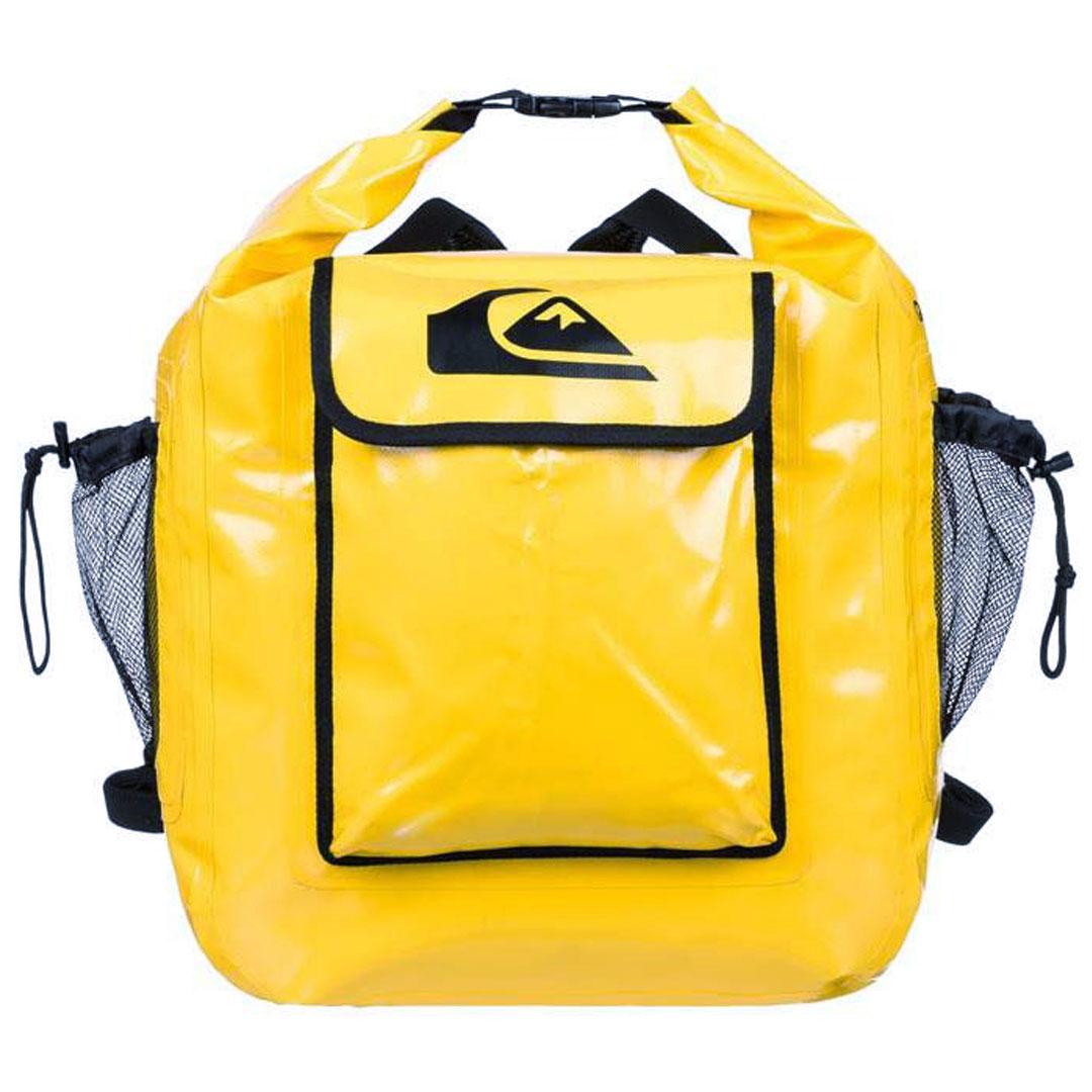 サーフィン ウェットスーツ 水着 バックパック リュック バッグ クイックシルバー QUIK SILVER DELUXE WET BAG Yellow