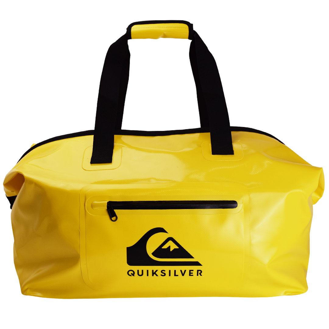 ダッフルバッグ サーフィン ウェットスーツ入れ クイックシルバー QUIK SILVER WET DRY DUFFLE Yellow