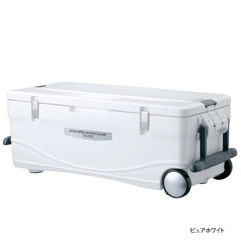 8月28日 UPシマノSHIMANO SPA-ZA WHALE BASIS 450 UC-045L 45L ピュアホワイト クーラーボックス 保冷【大型配送】