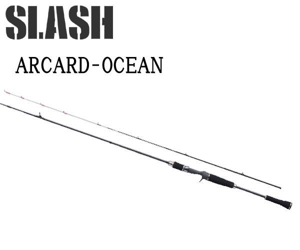 スラッシュ SLASH ARCARD-OCEAN B712MGST055377 ティップラン ・ イカメタルゲーム船からのイカ釣りに特化
