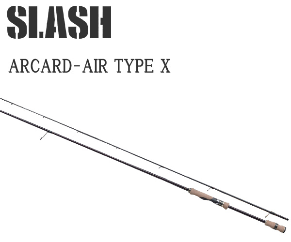 SLASH ( スラッシュ ) ARCARD-AIR TYPE X 862SJ 058415 エギングロッドエギングハイエンドロッド
