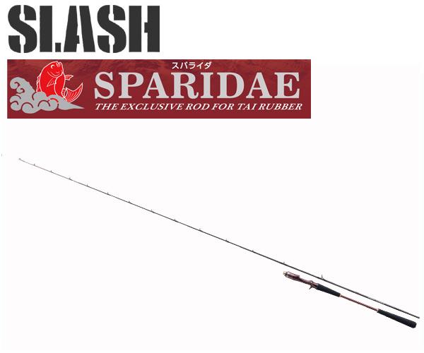 SLASH ( スラッシュ ) SPARIDAEスパライダ SP-C692MH-TB 061217 タイラバロッド高感度大鯛MODEL代引き・離島不可