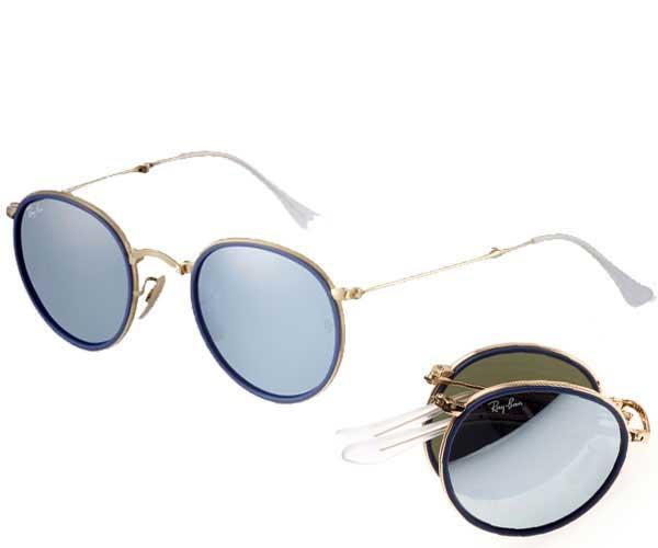 fb28453160 eWESTCOAST RAKUTEN ICHIBATEN  Ray-Ban (Ray-Ban) folding round RB3517-51-001 30  sunglasses