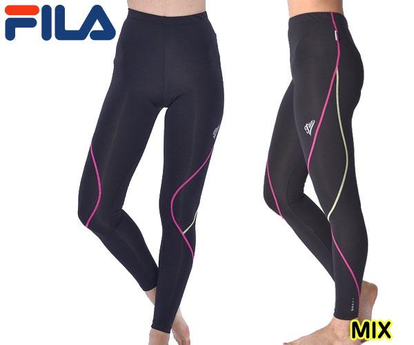 【正規品】 フィラ FILA 445-407フィットネス スポーツジム レディース ロングタイツ ( レギンス ) スポーツ時の「動きやすさ・疲労軽減・快適さ」など独自で開発