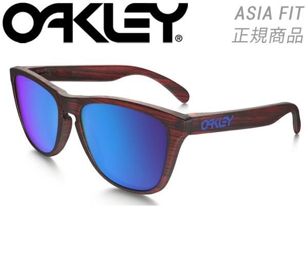 オークリー OAKLEYFrogskins フロッグスキンズ OO9245-92455654 Sapphire Iridium サングラス【 あす楽 】【 送料無料 ( 北海道 ・ 沖縄除く ) 】