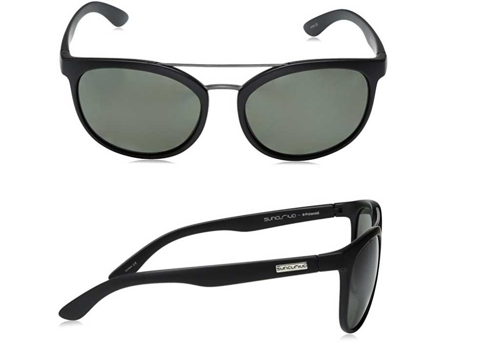 e4dd4e0f789 SUNCLOUD (sun cloud) LIBERTY MATTE BLACK GRAY 218101021 polarization  sunglasses