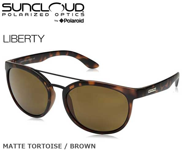 52827070e4c eWESTCOAST RAKUTEN ICHIBATEN  SUNCLOUD (sun cloud) LIBERTY color MATTE  TORTOISE BROWN 218101022 polarization sunglasses