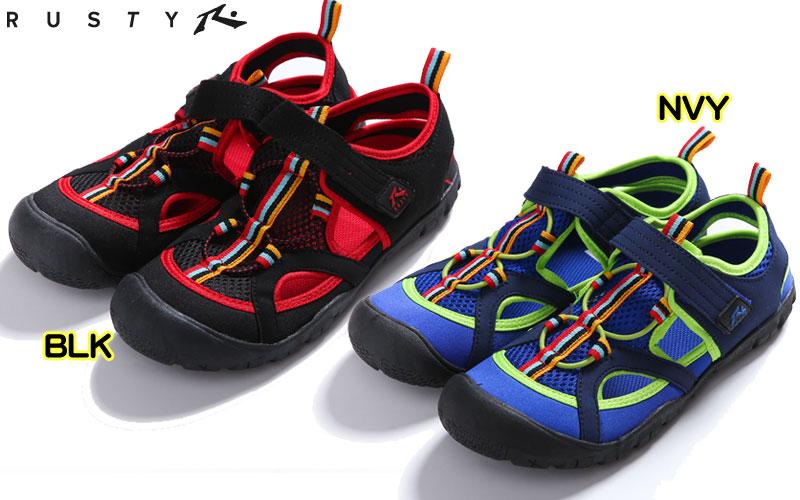 cd8b11b50 eWESTCOAST RAKUTEN ICHIBATEN: I can deliver only one point of RUSTY (Rusty)  966-919/967-915 youth aqua shoes Malin shoes | Rakuten Global Market