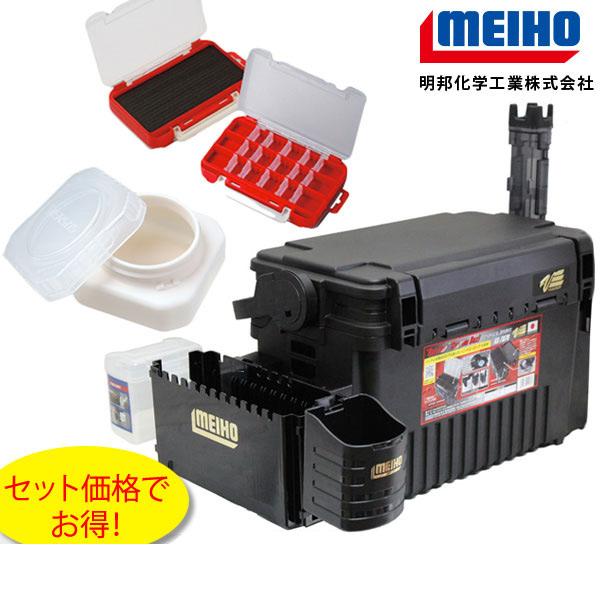 MEIHO ( メイホウ ) VS-7070 ライトゲームフルセットアジング、メバリング当店オリジナルタックルボックスセットライトゲーマー専用セット!