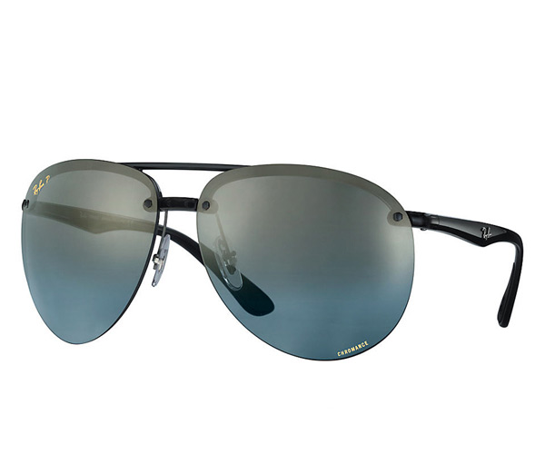 8bef2922f3 The RB4293CH sunglasses of Ray-Ban are equipped with Chromance Lenses  (chroman lens) in the square double bridge design of the nylon material. A  design to ...