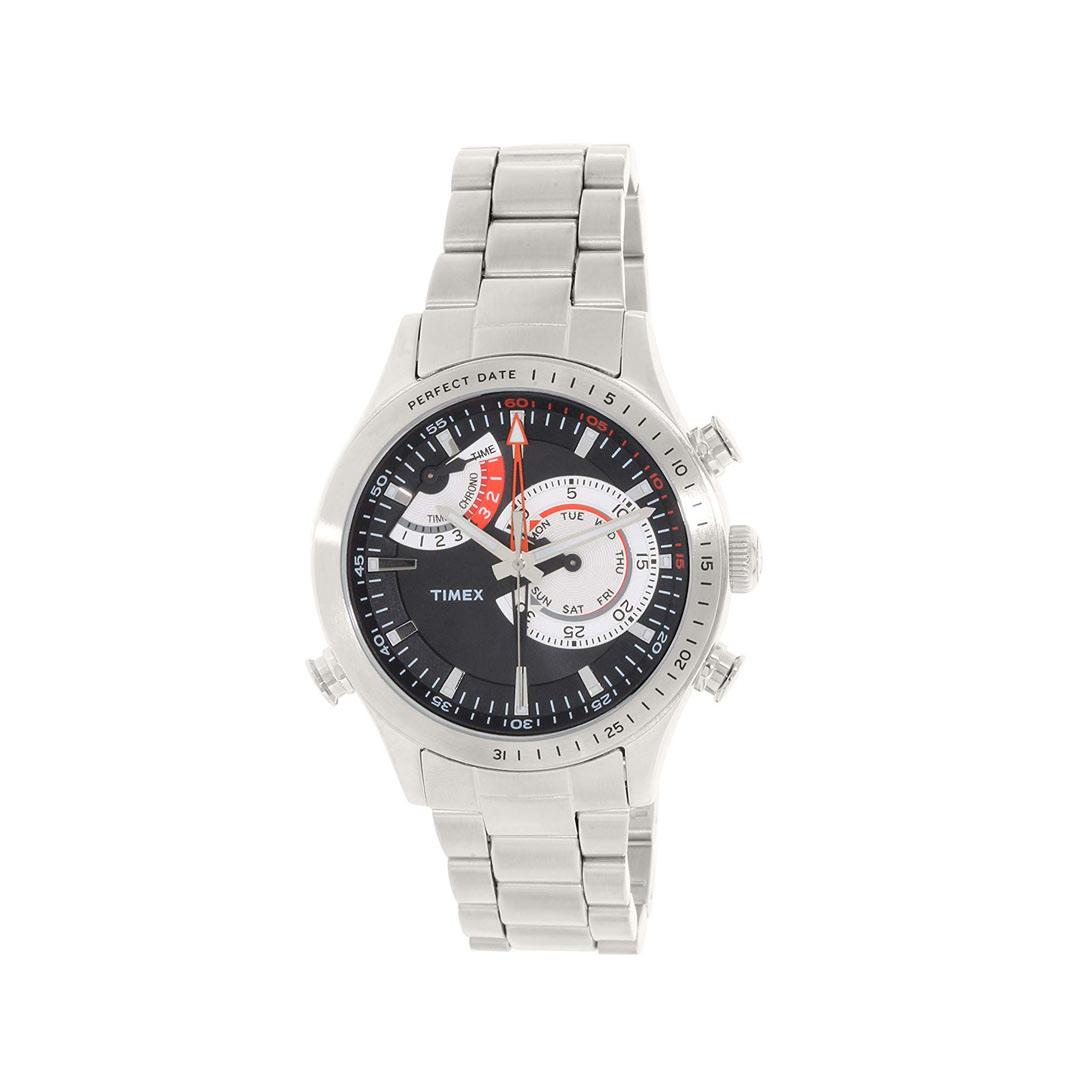 TIMEX ( タイメックス ) インテリジェントクォーツ クロノグラフ パーフェクトデイト TW2P73000腕時計 【海外輸入モデル】 【 あす楽 対象 】【 あす楽便 】【 送料無料 ( 北海道 ・ 沖縄除く ) 】