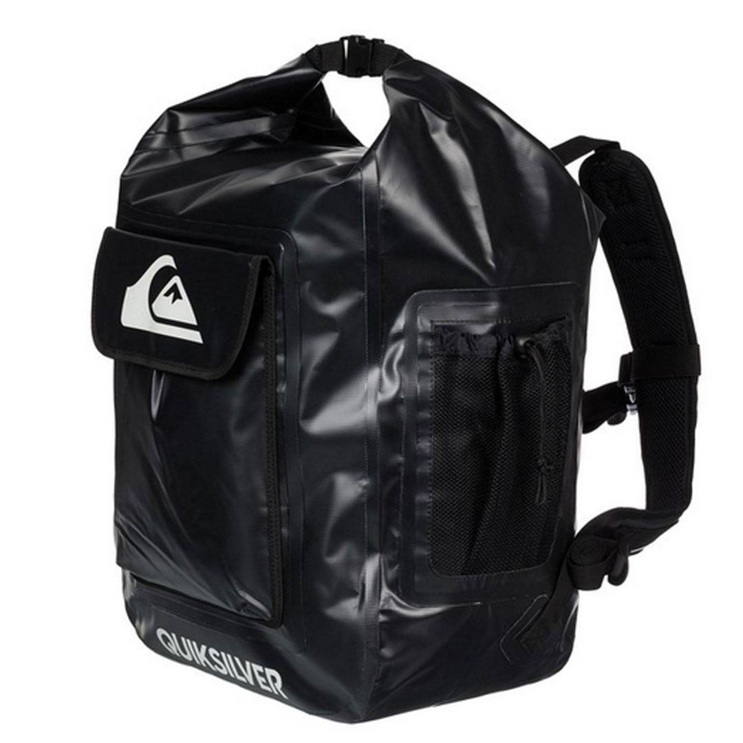 QUIK SILVER(クイックシルバー) 【品名】DELUXE WET BAG 【カラー】BLACK  3700910101541 バックパック リュック 完全防水仕様