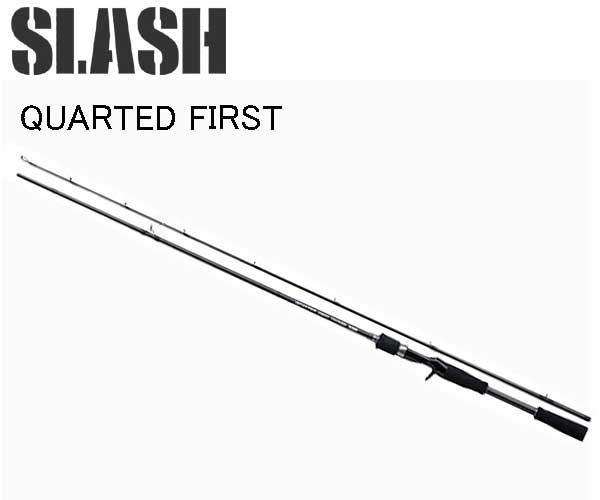 スラッシュ SLASH QUARTED FIRST ( クォーテッドファースト ) QF-C702H 064959 バスベイトロッドエントリー・入門モデル