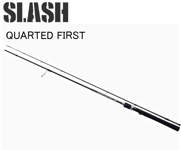 スラッシュ SLASH QUARTED FIRST ( クォーテッドファースト ) QF-S612UL 064904 バススピニングロッドエントリー・入門モデル