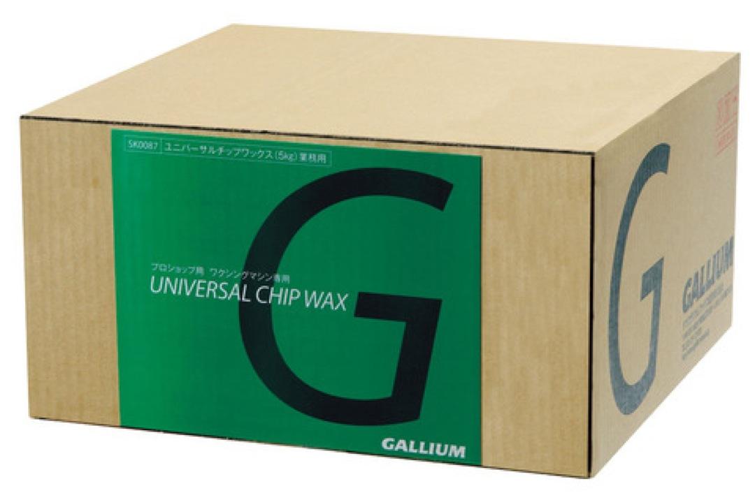 GALLIUM ( ガリウム ) ユニバーサルチップワックス ( 5kg ) SW?2107 100%パラフィンワックスペレット状