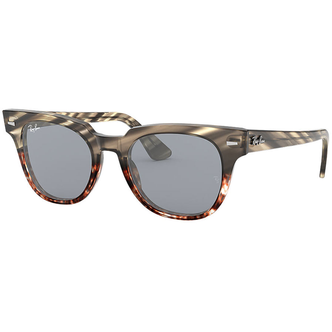 Ray-Ban レイバン METEOR STRIPED HAVANA RB2168 1254Y5 50 (GREY GRADIENT BROWN STRIPPED) サングラス 【あす楽対象】【あす楽便】【送料無料(沖縄除く)】【5月末まで】