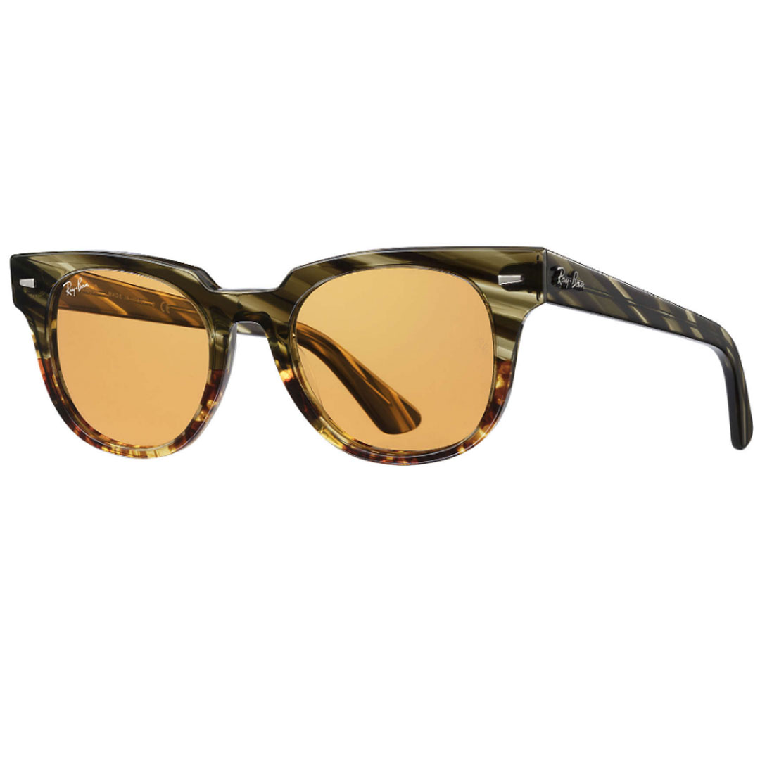 レイバン Ray-Ban METEOR STRIPED HAVANA RB2168 12683L 50 (GREEN GRADIENT BROWN STRIPPED) サングラス 【 あす楽 】【送料無料(沖縄除く)】
