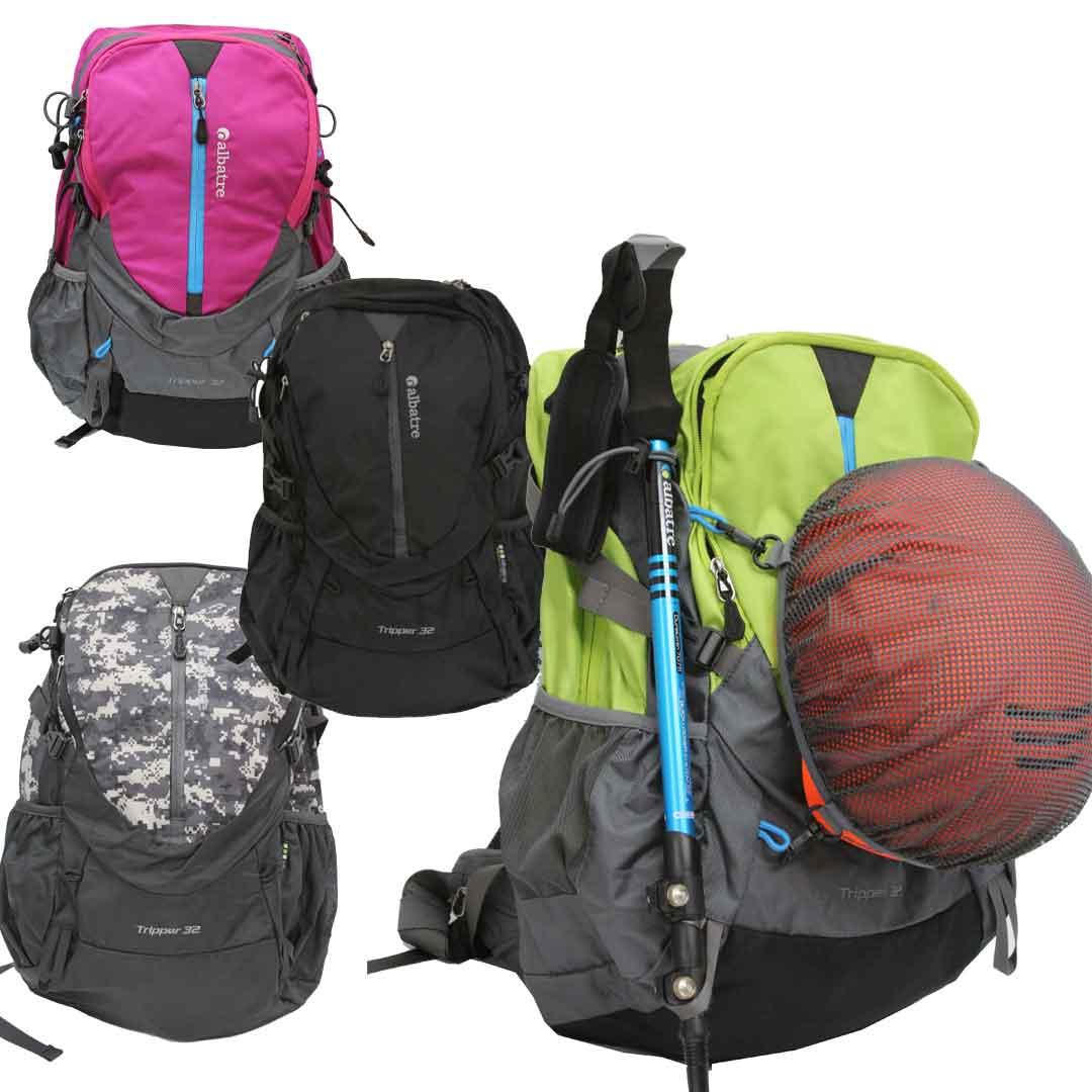 軽登山 ハイキング アルバートル ALBATREAL-TB3210 リュック トレッキングバックパック軽登山 高級 メーカー再生品 ハイキングバッグ