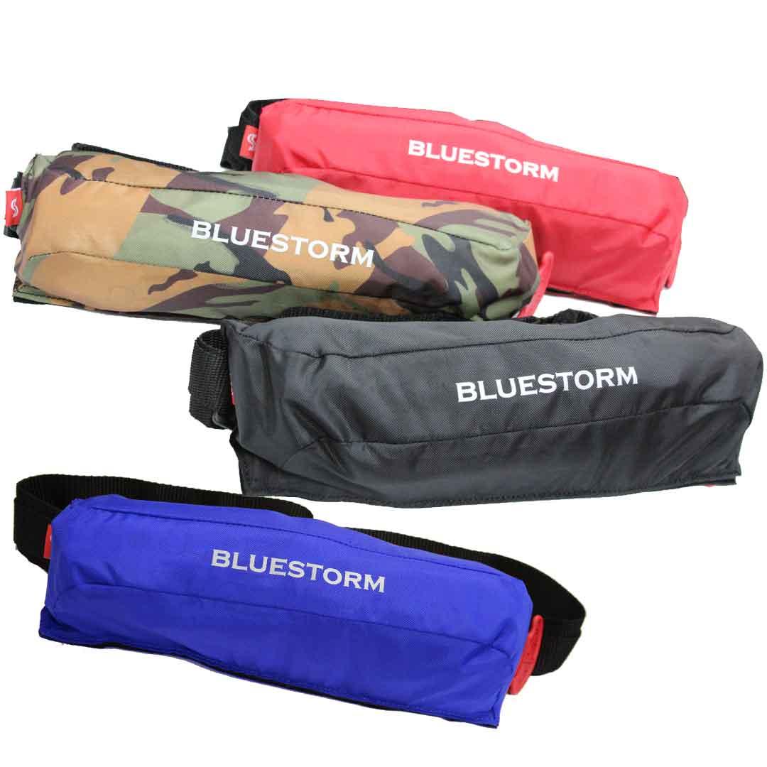 ブルーストーム BLUE STORM BSJ-9320RS 自動膨張式(水感知機能付き) ベルトタイプ さくらマーク 高階【 あす楽 】