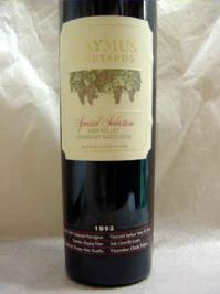 [1992] ケイマス・カベルネ・ソーヴィニヨン・スペシャル・セレクション 750ml Caymus Cabernet Sauvignon Special Selection
