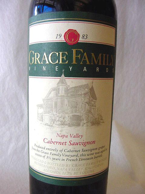 [1983] グレース・ファミリー 750ml Grace Family