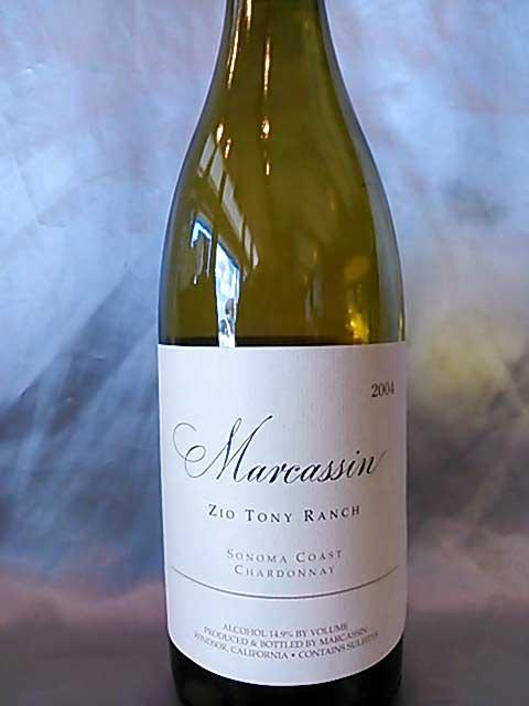 [2004] マーカッシン・シャルドネ・ジオ・トニー・ランチ 750ml マーカッシン Marcassin Chardonnay Zio Tony Ranch