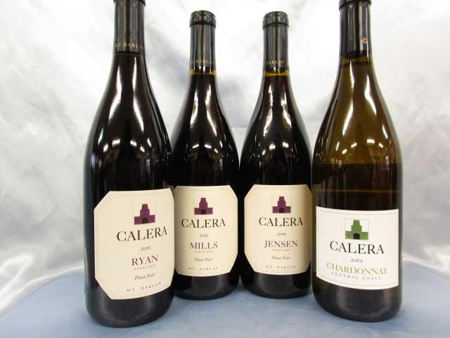 [2011] カレラ 4本セット 750ml カレラ Pinot Noir Jensen / Calera