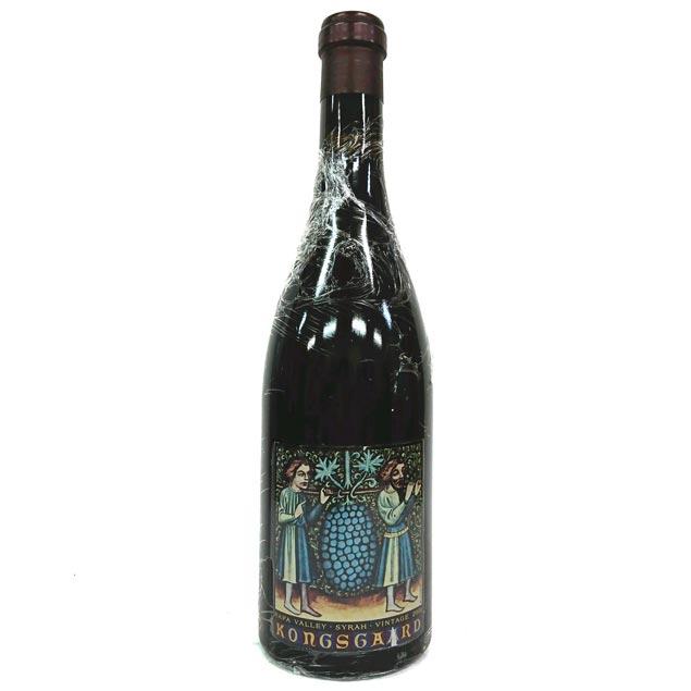 [2001] シラー ハドソン・ヴィンヤード 750ml コングスガード Syrah Hudson Vineyard / Kongsgaard [S-1]