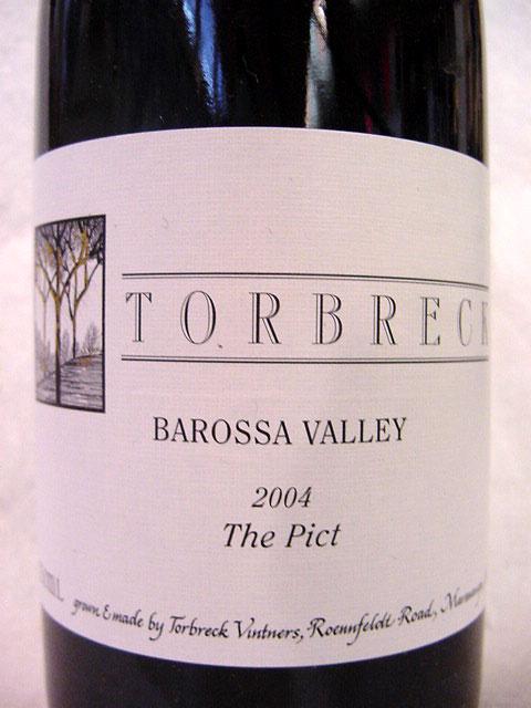 [2004] ザ・ピクト 750ml トルブレック The Pict / Torbreck