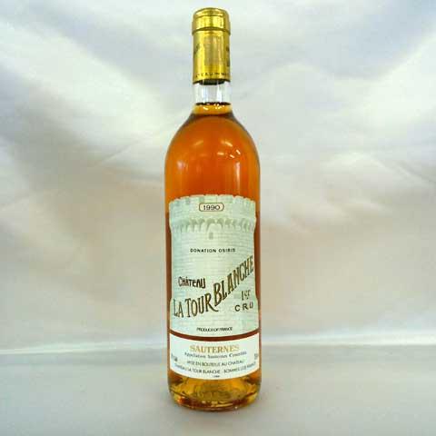 [1990] シャトー・ラトゥール・ブランシュ 750ml ソーテルヌ Chateau La Tour Blanche / Sauternes
