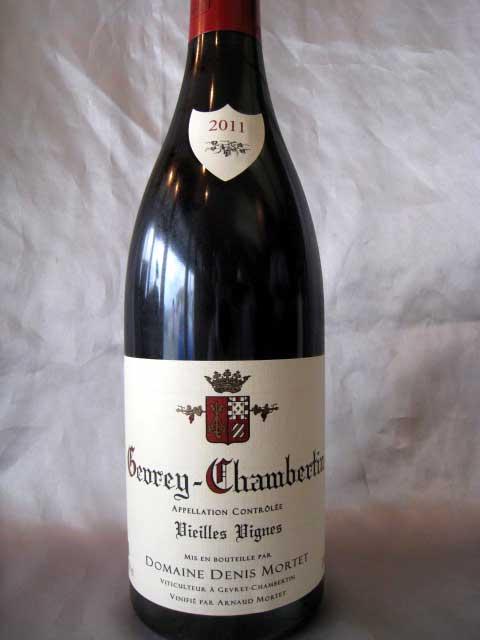 [2011] ジュヴレ・シャンベルタンVV 750ml ドニ・モルテ Gevrey Chambertin Vieilles Vignes / Denis Mortet